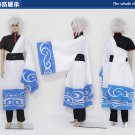 Gintama Sakata Gintoki Cosplay Costume And Wig