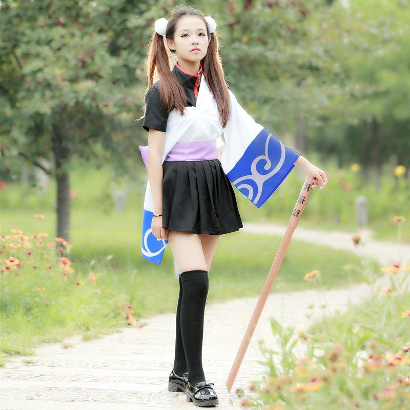 Gintama Sakata Gintoki New Women Cosplay Costume