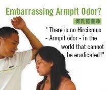 Hircismus Cleaner - Eradicate armpit odor forever!