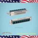 25 pcs -  DSUB COMBO 8 POSITION 8W8 SOCKET - CONEC  P/N: 3008W8SXX99A10X (E362)