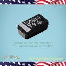 50 pcs  VISHAY Size D 100uF 16V, ±10% Tantalum Capacitor 593D107X9016D2TE3 (W12)
