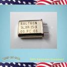50pcs - RALTRON 16.384MHz, HC-49/U  Crystal Oscillator (E443)