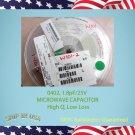 5000 pcs - AVX 0402,  1.8pF/25V MICROWAVE CAPACITOR  04023J1R8BBWTR  (E379)