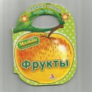 RUSSIAN LANGUAGE FRUIT YOUNG LEARNERS CARD PAGE BOOK