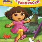 DORA DASHA THE EXPLORER AND BUTTERFLY  RUSSIAN PUZZLE COLOUR LEARNING BOOK