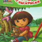 DORA DASHA THE EXPLORER AND PUPPY  RUSSIAN PUZZLE COLOUR LEARNING BOOK