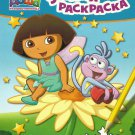 DORA DASHA THE EXPLORER AND PMONKEY RUSSIAN PUZZLE COLOUR LEARNING BOOK