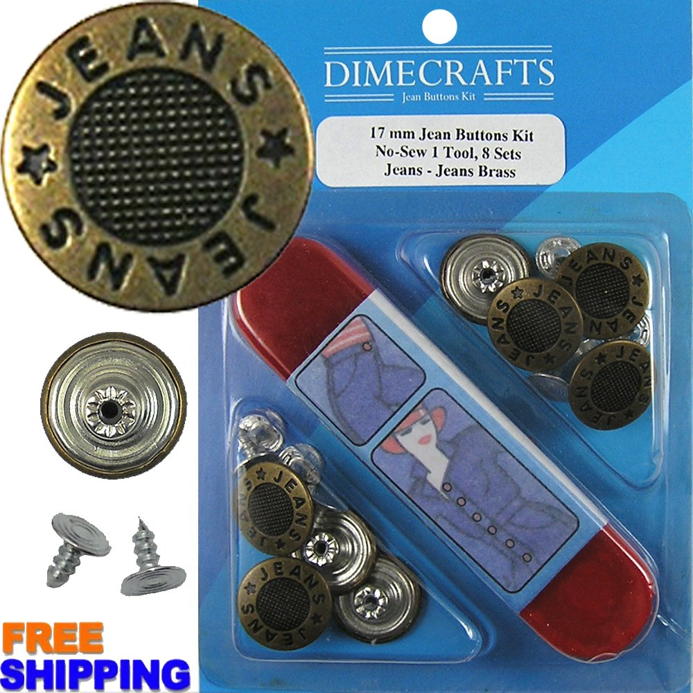17mm Jeans-Jeans Brass 8 Set with Tool
