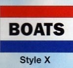 BOATS Nylon Flag