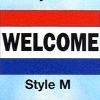 WELCOME Nylon Flag