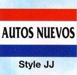AUTOS NUEVOS Nylon Flag