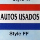 AUTOS USADOS Nylon Flag