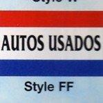 AUTOS USADOS Nylon Flag