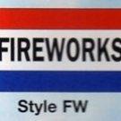FIREWORKS Nylon Flag