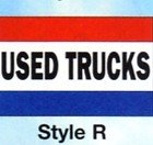 USED TRUCKS Nylon Flag