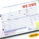 WE OWE - #SA-1506-3 Item 870