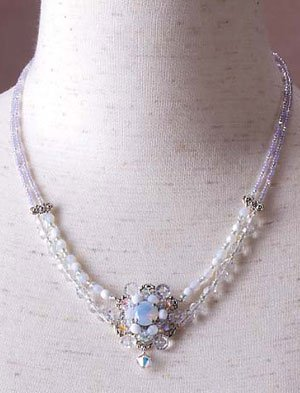 TOHO Elegant Jewelry Kit Glass Stone Necklace