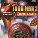 IRON MAN 2 ARC LIGHT ATTACHES TO SHIRT NEW