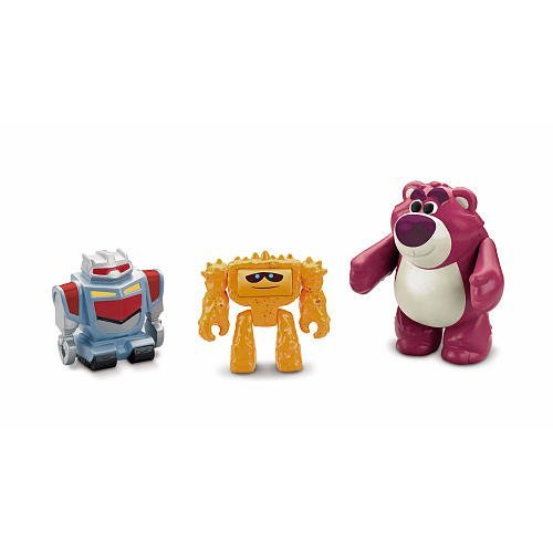 Imaginext Disney / Pixar Toy Story 3 Figure Lotso with Sparks & Chunk