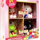 Hello Kitty 50th Anniversary Character 4 Pack Plush Gift Set