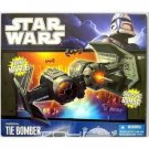 Star Wars 2010 Clone Wars Exclusive Deluxe Vehicle Imperial Tie Bomber