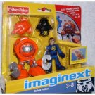 Fisher Price Imaginext Robot Police -Orange Deep Sea Robot