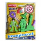 Imaginext DC Super Friends Mini Figure The Riddler with Question Mark Launcher & Target