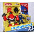 Imaginext Robot Police Model T0651 Robot with Police Figure includes CD-Rom #1