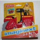 Imaginext City Red Steam Roller