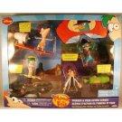 Phineas & Ferb Figure Diorama Agent P Dr. Doofenshmirtz