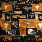 "University of Texas Longhorns 2-Sided Fleece Knot Blanket 30"" X 52"" No Sew"