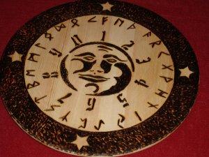 Board and Rune Set ( moon)