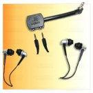 2 X Logitech Headphone + Audio Share Splitter Mp3 iPod