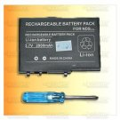 2000MAH Rechargeable Battery for NDS DS Lite NDSL