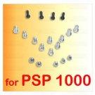 19 X Screws Full Screw Set Repair Parts f SONY PSP 1000