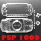 SONY PSP 1000 Full Housing Repair Parts Faceplate Clear