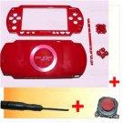 PSP 1000 Full Housing Faceplate Shell Case +Joystick R