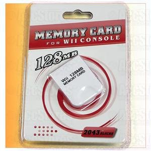 128MB 128 MB Memory Card for Nintendo GameCube Wii