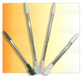 4 Retractable Metal Stylus Touch Pen DS NDS NDSL Lite