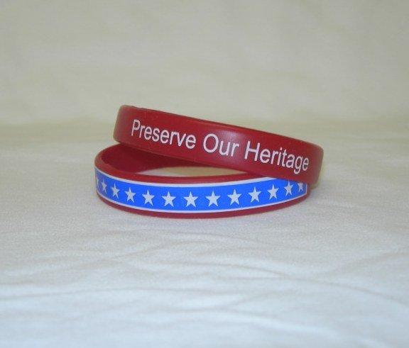Preserve Our Heritage Bracelets