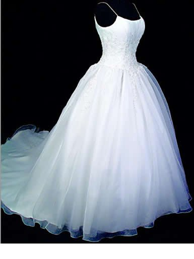 Sleeveless Princess Wedding Dress