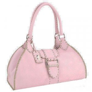 Fendi Pink Leather Handbag
