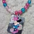 Walt Diseny minnie necklace..