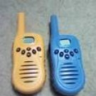 MAXUS yellow and blue walkie talkie's.....