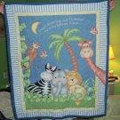 homemade Safari animal blanket