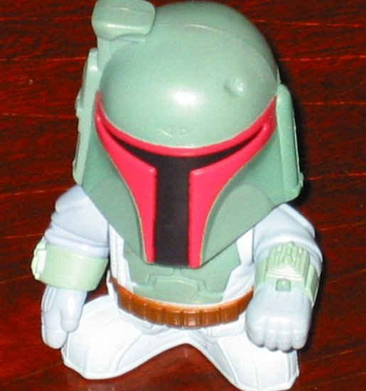 BOBA FETT Star Wars Episode III Revenge of the Sith Burger King Fast Food Toy ROTS