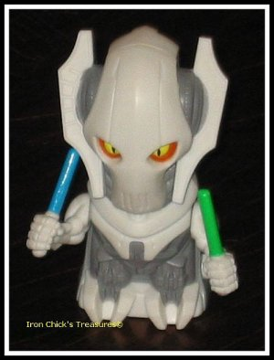 GENERAL GRIEVOUS STAR WARS Episode III Revenge of the Sith Burger King Fast Food Toy ROTS