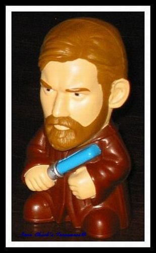 OBI WAN Star Wars Episode III Revenge of the Sith Movie Toy Burger King ROTS