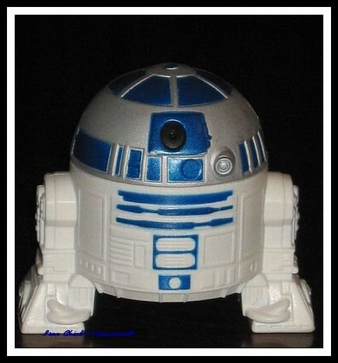 R2D2 Star Wars Episode III Revenge of the Sith Movie Toy Burger King ROTS
