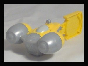 NABOO STARFIGHTER Star Wars COMPLETE THE SAGA Burger King Toy Week 2 NEW Kids Meal